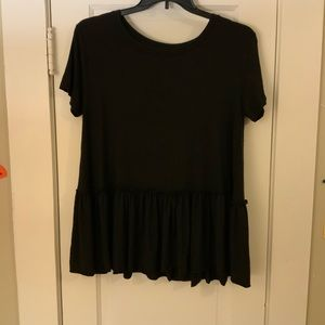 Agnes and Dora relaxed ruffle tee
